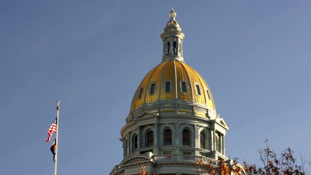 Denver Colorado Capital Building Government Dome Architecture video