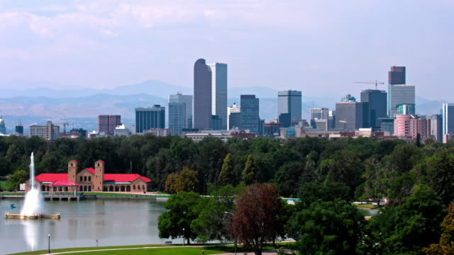 Denver , Colorado  USA  Skyline video