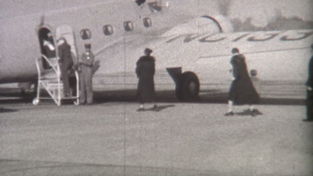 Departing Plane 1930's video