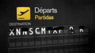 Departures Flip Sign: European Cities set four video