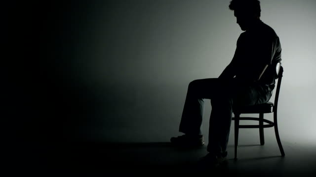 Depressed and Isolated Man video