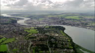 Derry  - Aerial View - Northern Ireland, United Kingdom video