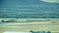Desert Airport Runway Spot Focus video
