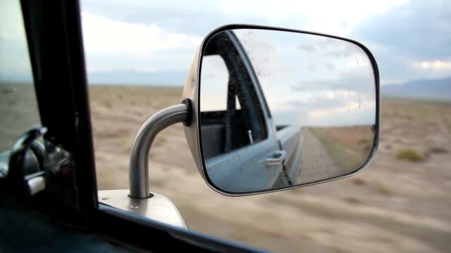 Desert driving video