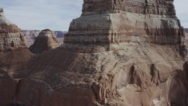 Desert formations of Lake Powell in Arizona and Utah video