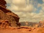 Desert in Wadi Rum video