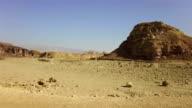 Desert landscape video