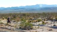 Desert motocross video