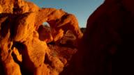 desert rock sunrise Nevada timelapse video