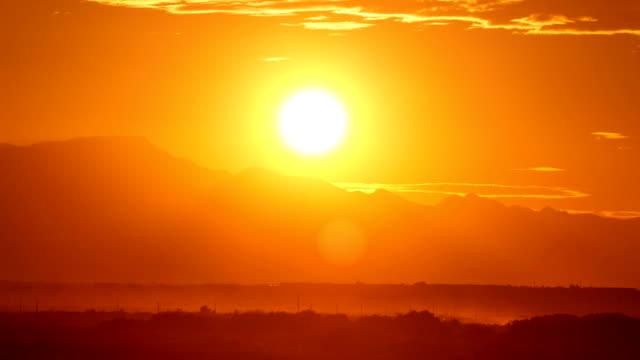Desert Sunset Time Lapse video