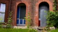 Deserted community houses video