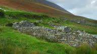 Deserted Village Of Slievemore On Achill Island video