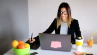 Designer at work video