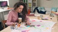 Designer Vaping At Work video