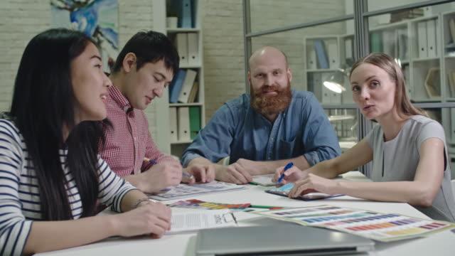 Designers at Video Meeting Online video