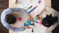 Designers Choosing Color Scheme video