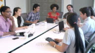 Designers Meeting To Discuss New Ideas video