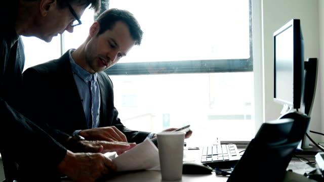 Desk men video