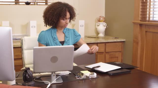 Desk work video