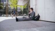 Desperate businessman lost his job video
