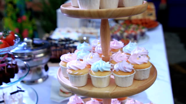 Desserts- Stock Video video