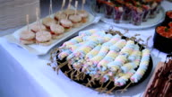 desserts - Stock Video video