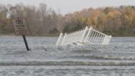 Destruction from Hurricane Sandy video