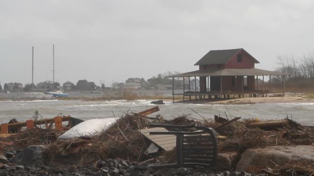 Destruction in the wake of Hurricane Sandy video