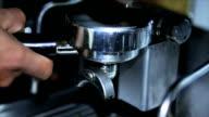 Detail coffee machine video