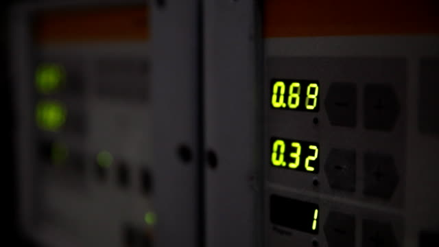 Detail from the factory machinery video