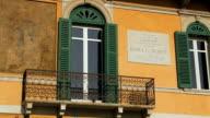 Detail of House in Verona video