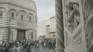 Details of Duomo Santa Maria del Fiore in Florence video