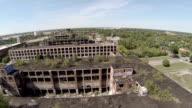 Detroit Aerial Packard Plant video