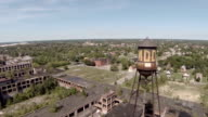 Detroit Aerial Packard Plant Water Tower video