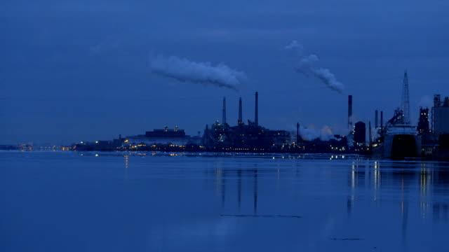 Detroit River Industry video