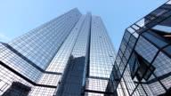 PAN Deutsche Bank Building In Frankfurt video