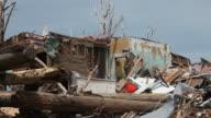 Devastation from a Tornado video