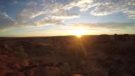 Devil's Marbles at sunrise, Northern Territory, Australia-4K video