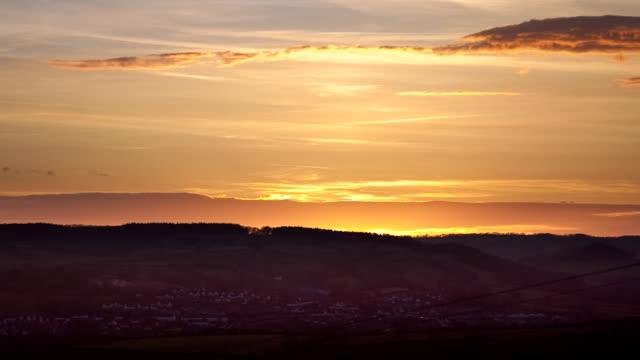 Devon Hills Sunset timlapse video