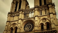 Dezoom on Notre Dame de Paris, France video