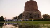 Dhamekh Stupa in Sarnath, Varanasi, India. video