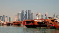 Dhows in Qatar video