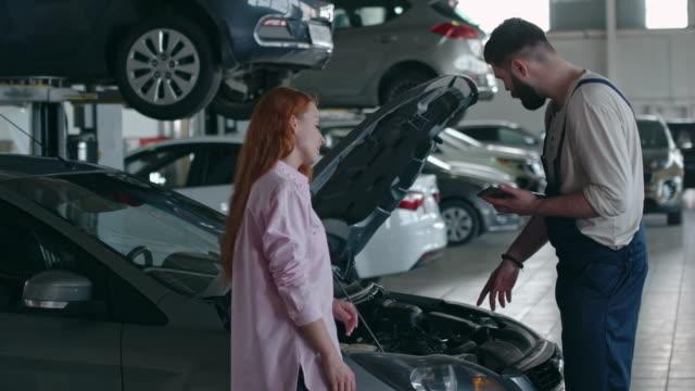 Diagnostics of Car Engine video