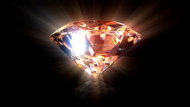 Diamond background video