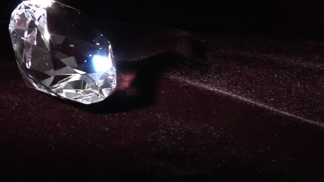 Diamond close up video