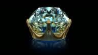 Diamond. Full HD animation video
