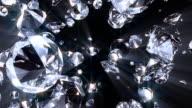 Diamond #21 HD ray blue video
