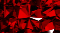 Diamonds red background with flares. HD 1080. Loopable. video