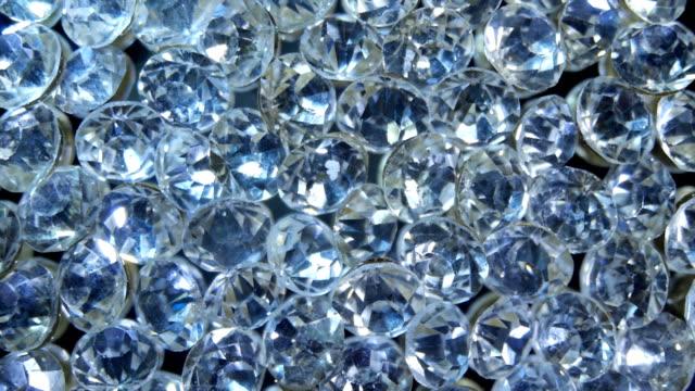 Diamonds through the refracting glass video