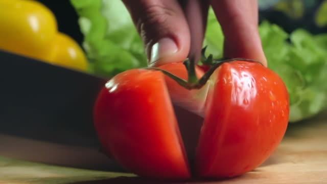 Dicing Tomato video
